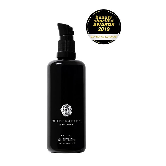 Best Australian Organic Face Cleansing Oil. Buy Wildcrafted Organics Neroli Cleansing Oil 100ml at One Fine Secret. Natural Organic Skincare & Makeup Clean Beauty Store in Melbourne, Australia.