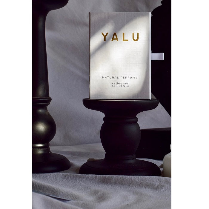Handcrafted Natural Perfume. Buy Yalu Emerald Odyssey at One Fine Secret. Yalu Natural Perfume Official Stockist in Melbourne, Australia.