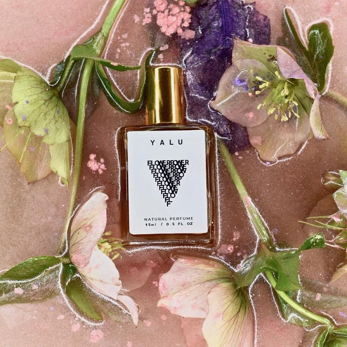 Handcrafted Natural Perfume. Buy Yalu Flower Power at One Fine Secret. Yalu Natural Perfume Official Stockist in Melbourne, Australia.