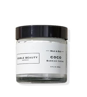 Edible Beauty Cream & Moisturiser Buy Edible Beauty Mum & Bub Coco Barrier Cream 60g at One Fine Secret. Official Stockist in Melbourne, Australia.