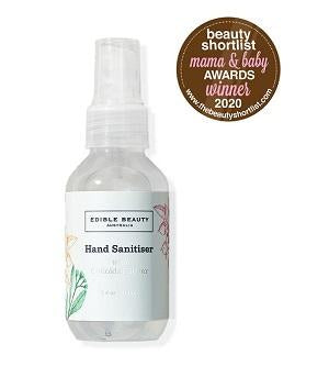 Edible Beauty Hand Sanitiser Buy Edible Beauty Natural Hand Sanitiser with Colloidal Silver 100ml at One Fine Secret. Official Stockist in Melbourne, Australia.