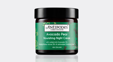 Skincare Category - Antipodes Avocado Pear Nourishing Night Cream 60ml