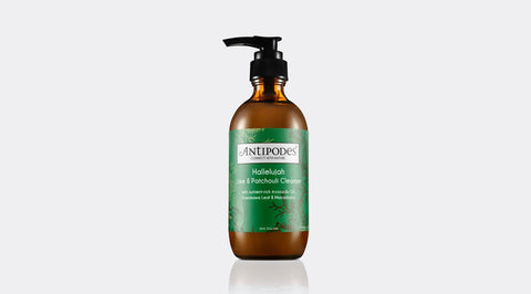 Skincare Category - Antipodes Hallelujah Lime & Patchouli Cleanser 200ml