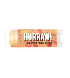 Skincare Category - Hurraw! Papaya Pineapple Lip Balm 4.3g