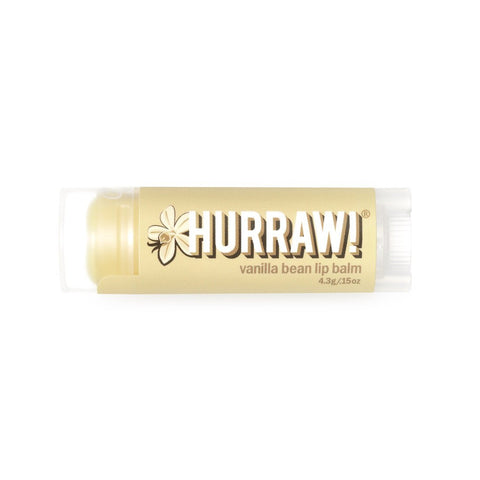 Skincare Category - Hurraw! Vanilla Bean Lip Balm 4.3g
