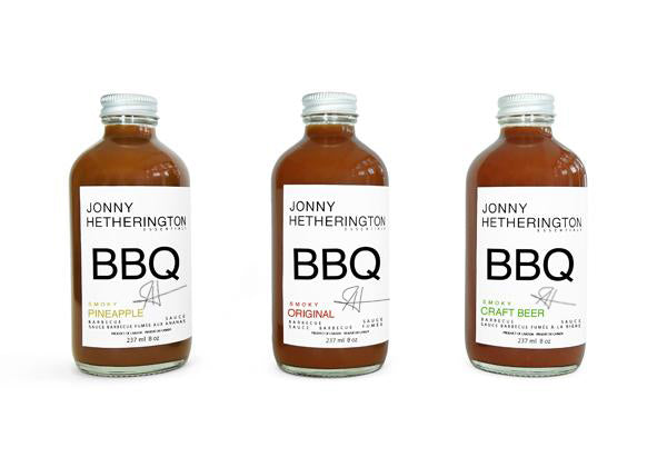 Limited Edition Signed Barbecue Sauce Trio (APPROXIMATELY $50.00 USD)