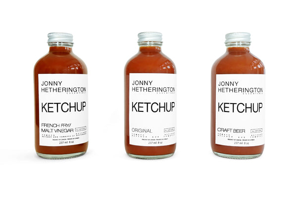 Ketchup Trio (Approximately $19.00 USD)
