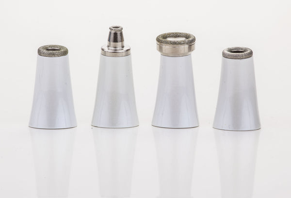 Replacement tips and filter set for the DermaBraze MD