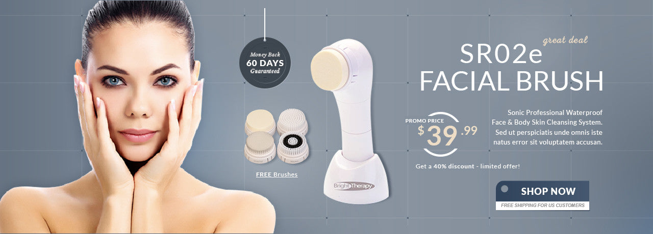 SR02e Facial Brush