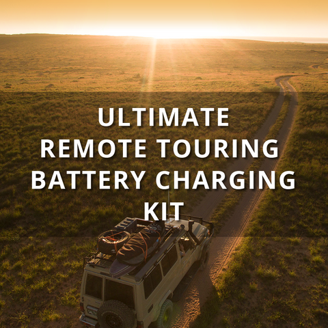 REDARC'S ULTIMATE REMOTE TOURING BATTERY CHARGING KIT