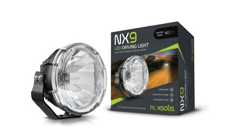 NX9 – 9″ LED Driving Light – Driving Beam ECE