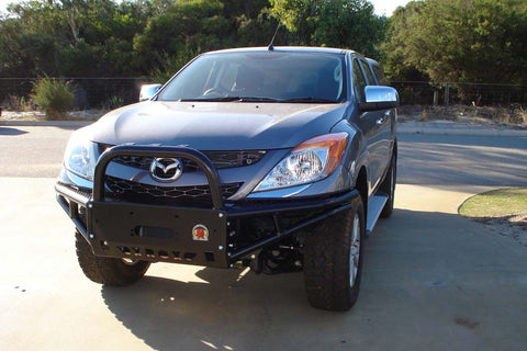 MAZDA BT50 10/2011 - 2015, XROX COMP BULL BAR, ADR, AIRBAG, WINCH BAR BASH PLATE XRMBT2