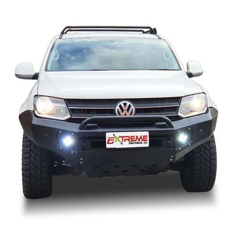 DEC PRESALE SUITS VW AMAROK Wide Factory Flare BLACK POWDER COAT- EXTREME SERIES BULLBAR