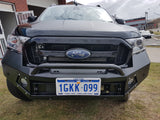 Suits  Ford Ranger PX2 MK2 TECH PACK  BLACK POWDER COAT- EXTREME SERIES BULLBAR