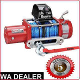 RUNVA WINCH 11XP BLACK - 11XP BLACK winch 12V Dyneema Rope