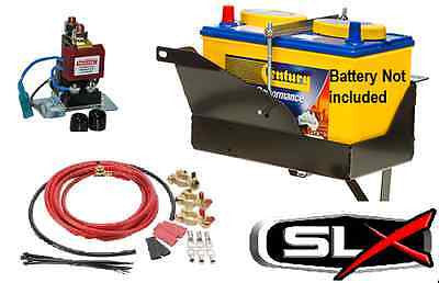 DUAL BATTERY SYSTEM Triton ML 3.2 Turbo 4WD BATTERY TRAY REDARC 12V ISOLATOR