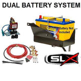 DUAL BATTERY SYSTEM  Series 4 Discovery V6 BATTERY TRAY REDARC 12V ISOLATOR