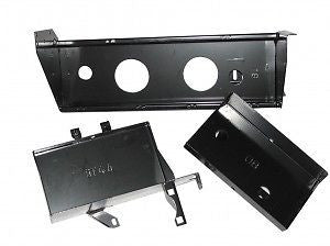 Toyota LandCruiser 70 series HJ75 Dual Battery Tray pre 1990 DUAL BATTERY TRAY