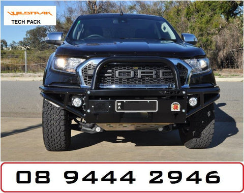 XROX BULLBAR RANGER PX2 TECH PACK 2015 ON FORD RANGER PX2 WILDTRACK 2016 BULLBAR