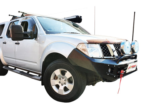 DEC PRESALE Suits NISSAN NAVARA D40 THAI ALL BLACK POWDER COAT- EXTREME SERIES BULLBAR
