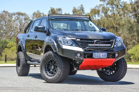 Suits MAZDA BT50 X-1 BLACK POWDER COAT 2012-2019- EXTREME SERIES BULLBAR