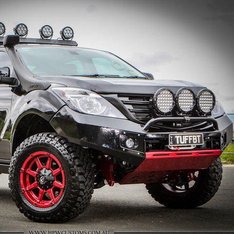 PRESALE DECEMBER 2020 Suits MAZDA BT50 X-1 BLACK POWDER COAT 2012-2019- EXTREME SERIES BULLBAR