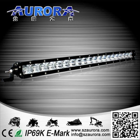 "20"" Aurora Single Row 5w LED LIGHT BAR Aurora 20 X 5W OSLON"