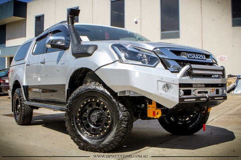 PRESALE DECEMBER 2020 Suits Isuzu Dmax 2017-2019 on  BLACK POWDER COAT- EXTREME SERIES BULLBAR