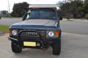 XROX COMP BULL BAR - TOYOTA LAND CRUISER 60 SERIES FJ60