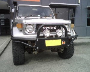 XROX COMP BULL BAR - TOYOTA LAND CRUISER 75/78/79 SERIES - TO 03/2007 NOT VDJ