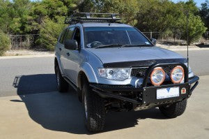XROX COMP BULL BAR - MITSUBISHI CHALLENGER 12/2009 TO CURRENT