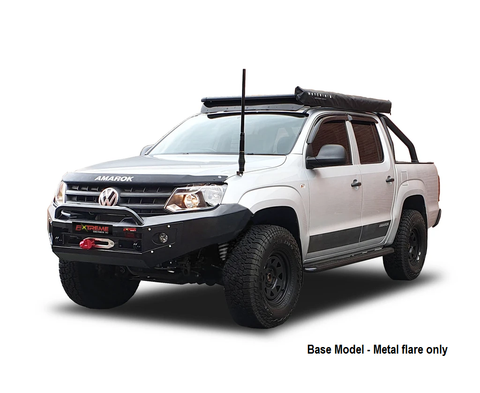 SUITS VW AMAROK BLACK POWDER COAT- EXTREME SERIES BULLBAR - BASE MODEL