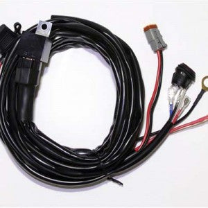 WIRING HARNESS SUIT LED WORK LIGHTS + RELAY 40A