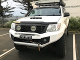 Suits TOYOTA HILUX 2011-2015 BLACK POWDER COAT- EXTREME SERIES BULLBAR
