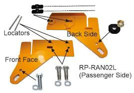 ROADSAFE 4WD HD TOW POINT FORD PX RANGER/MAZDA BT50 GEN2 (11-on) PAIR - RP-RAN02