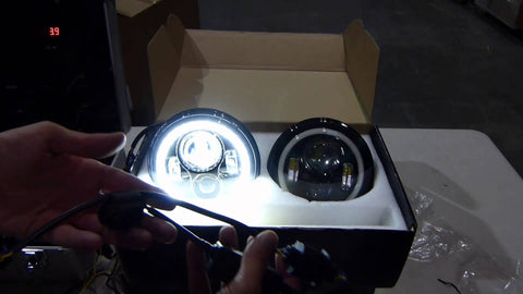 Landrover Defender 7 Inch Led Headlight X 2 New Projector