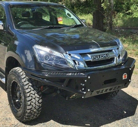 ISUZU DMAX XROX BULL BAR NO LOOP, 50MM BODY 06/2012 - 02/2017, AUSSIE MADE, 4X4