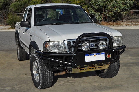 Mazda Bravo 1999-11/2006 XROX COMP BULL BAR, ADR, AIRBAG, WINCH BAR BASH PLATE