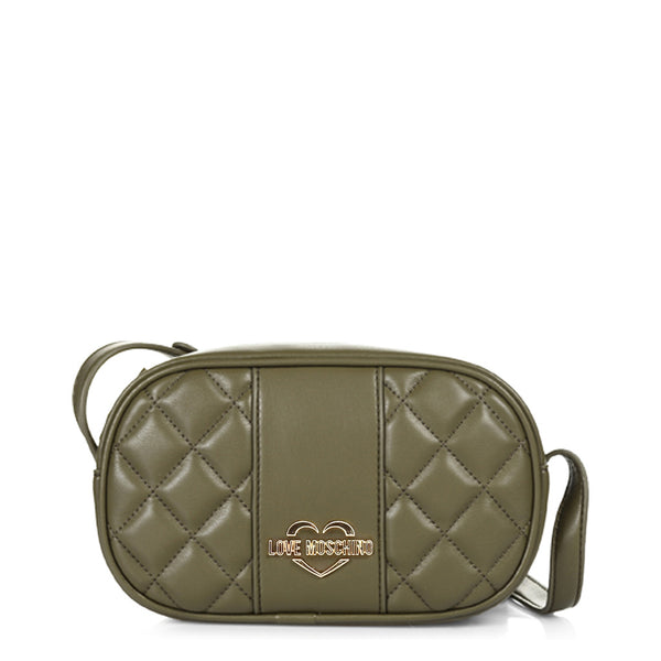 Love Moschino Olive Green Crossbody Bag