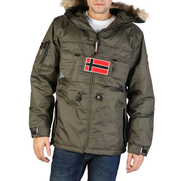 Geographical Norway - Bantou Mens Olive Green Jacket