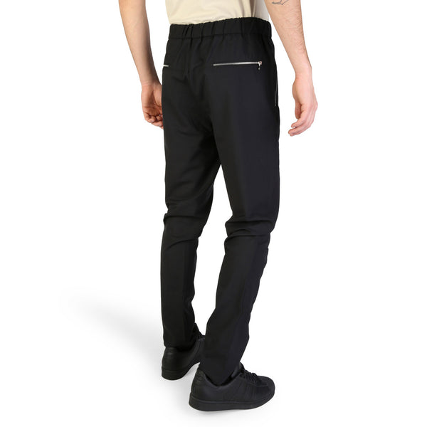 Emporio Armani Mens Black Trousers