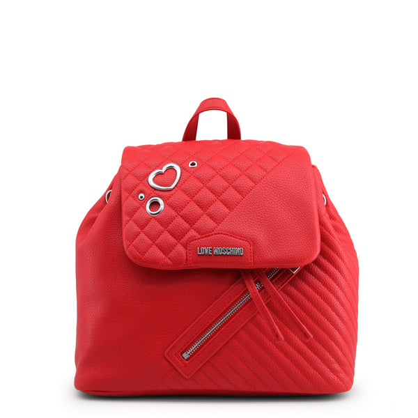 Love Moschino Red Backpack