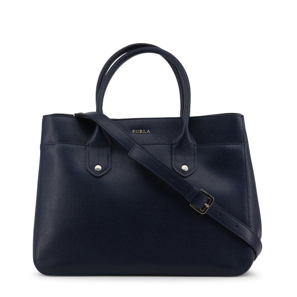 Furla Womens Dark Blue Handbag