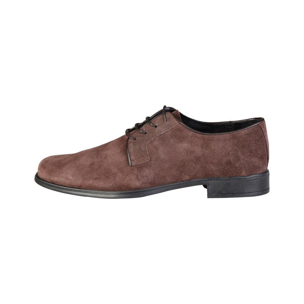 Pierre Cardin - ALBERIC Mens Brown Suede Classic Lace Up Shoes