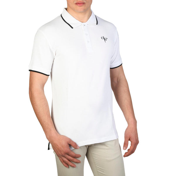 Cesare Paciotti Mens White Polo
