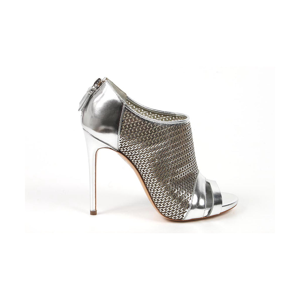 Casadei ladies sandals - silver shoes