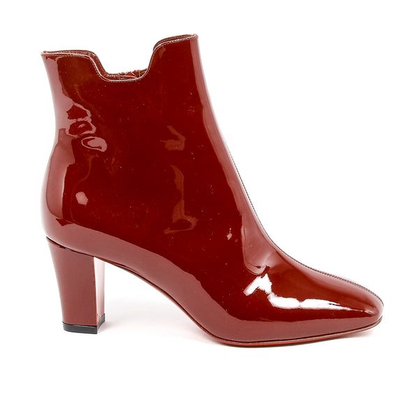 Christian Louboutin Womens Red Ankle Boot