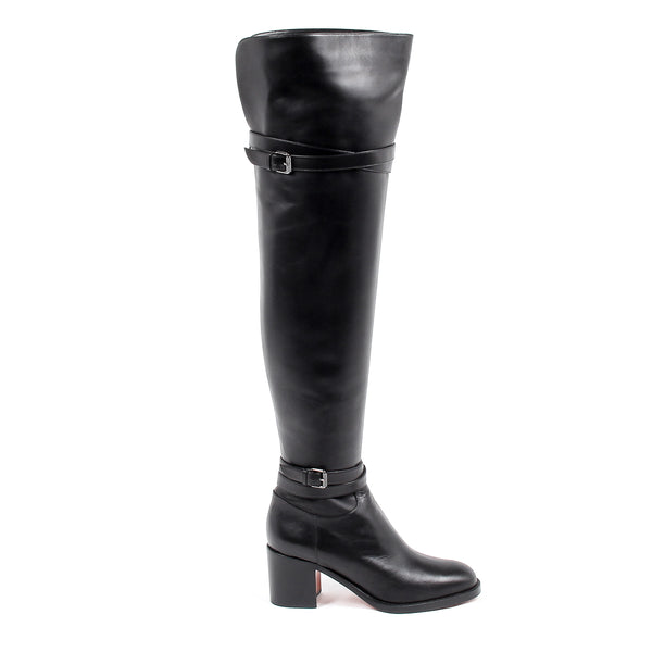 Christian Louboutin Womens High Boot KARIALTA 70 CALF