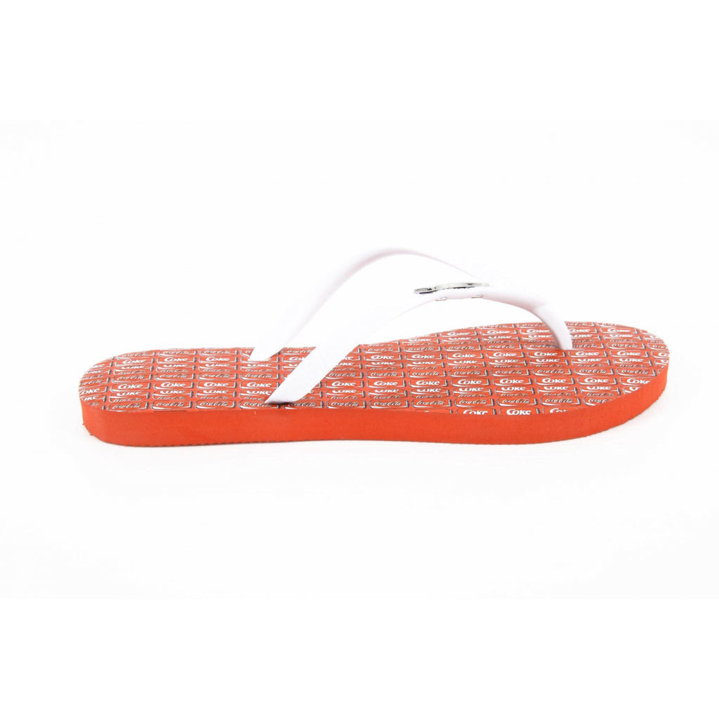Coca Cola ladies flip flop CCA0594 WISE GIRL WHITE - Sovranity