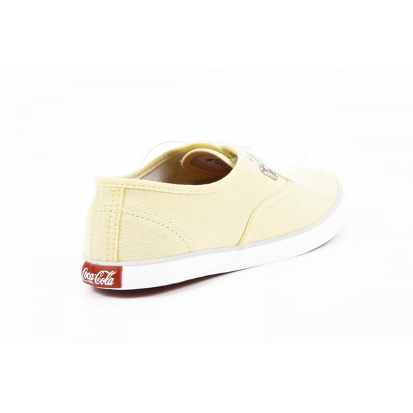 Coca Cola ladies sneakers CCA0313 ALL DAY YELLOW - Sovranity